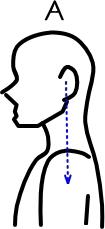 肩こりの姿勢1