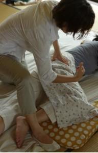 妊婦施術1