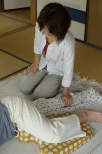 妊婦施術2