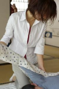 妊婦施術3